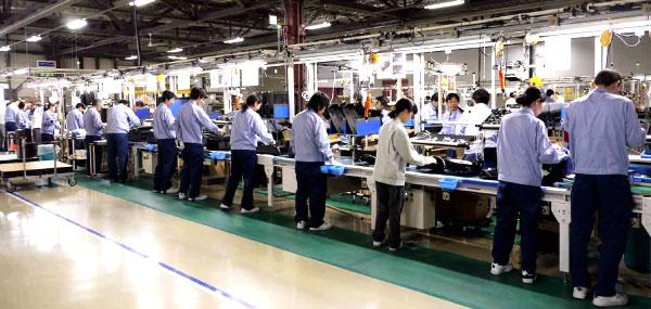 パナソニックの工場