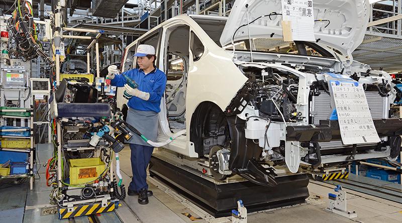トヨタ組立工程