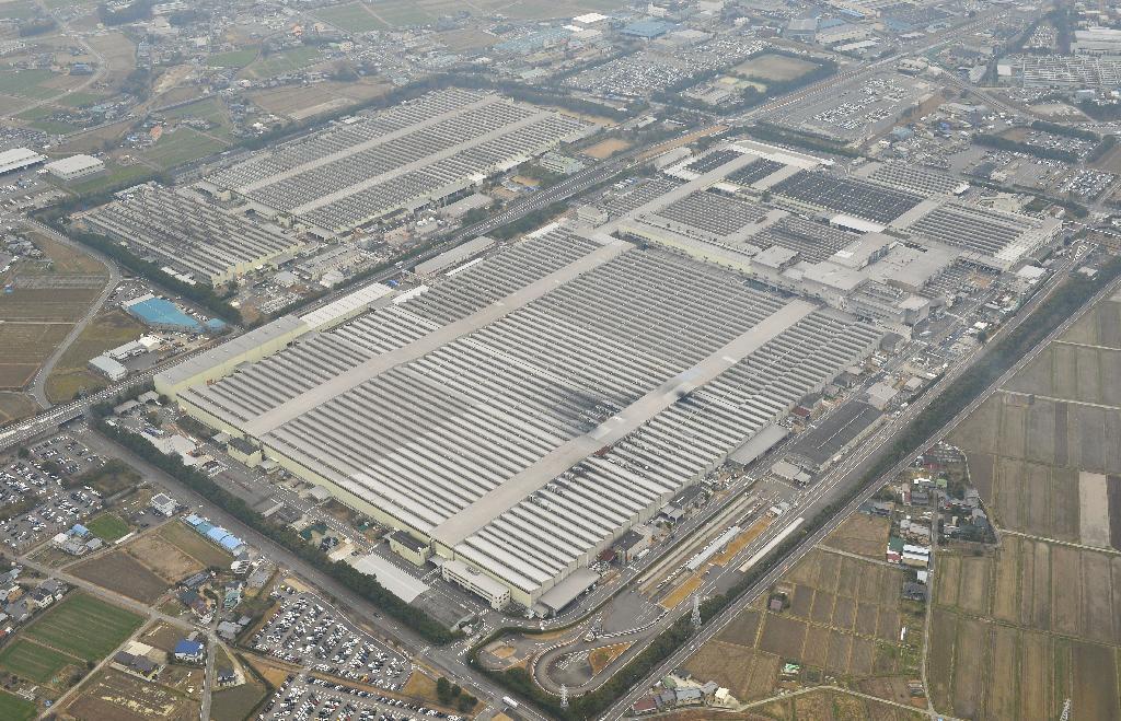 トヨタ堤工場