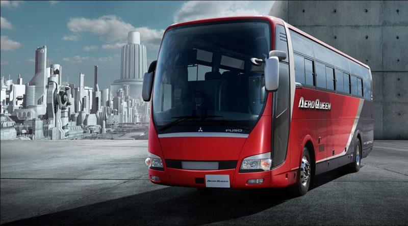 三菱ふそうのバス