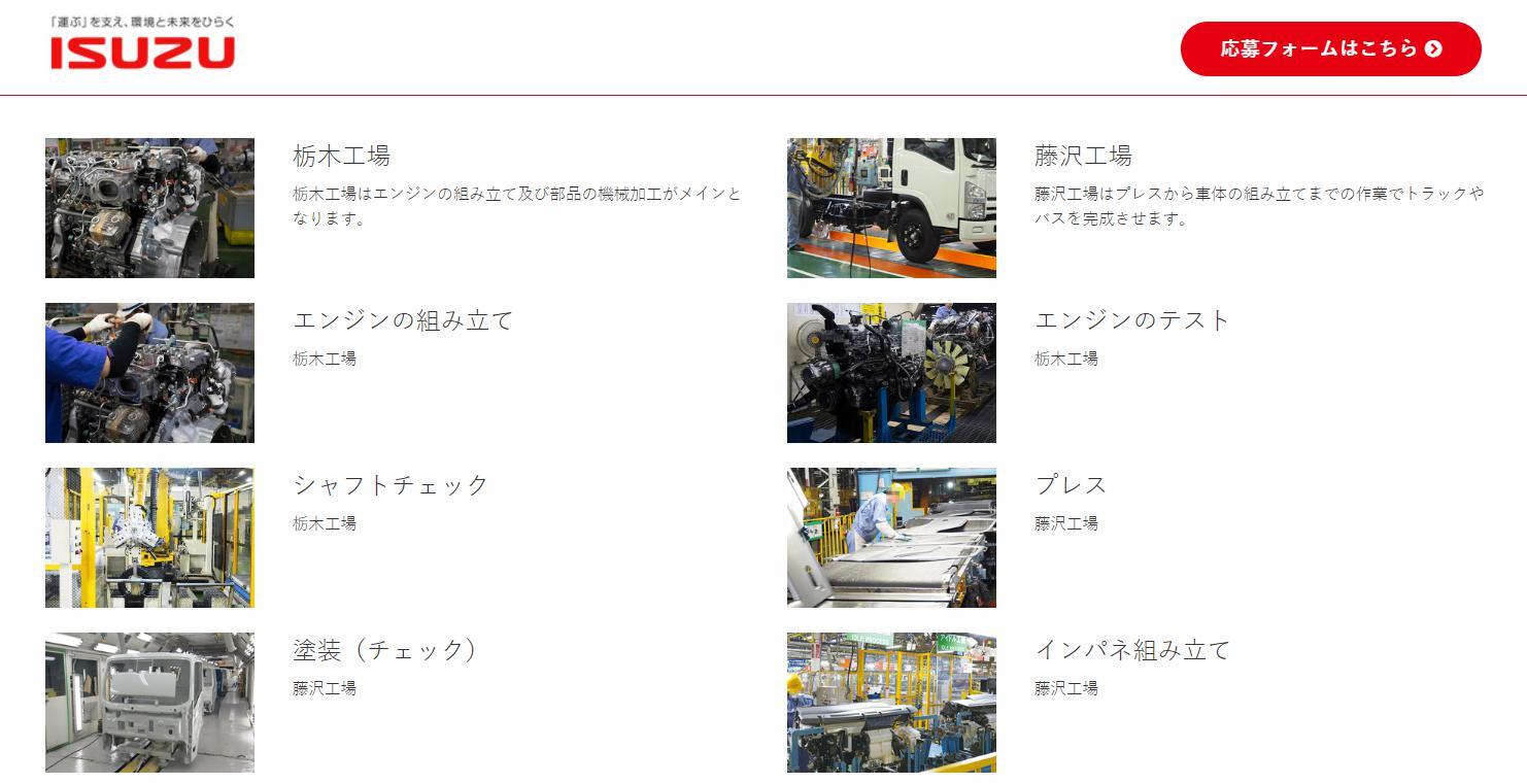 いすゞ 藤沢工場